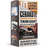 CERAKOTE Ceramic Trim Coat Kit - Quick Plastic Trim Restorer - Guaranteed Restoration to Last Over 200 Washes - A…