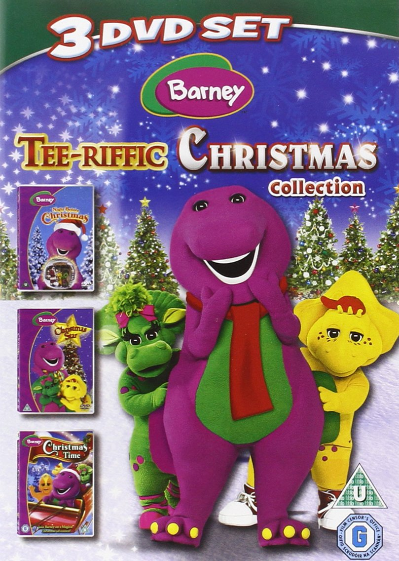 Barney: Tee-riffic Christmas Collection 3 DVD Set 2010 DVD: Amazon ...
