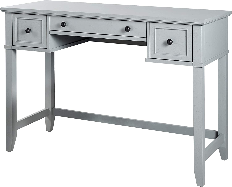 Crosley Furniture Vista Desk, Vintage Grey