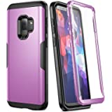 YOUMAKER Galaxy S9 Case, Rose Gold with Built-in Screen Protector Heavy Duty Protection Shockproof Slim Fit Full Body…