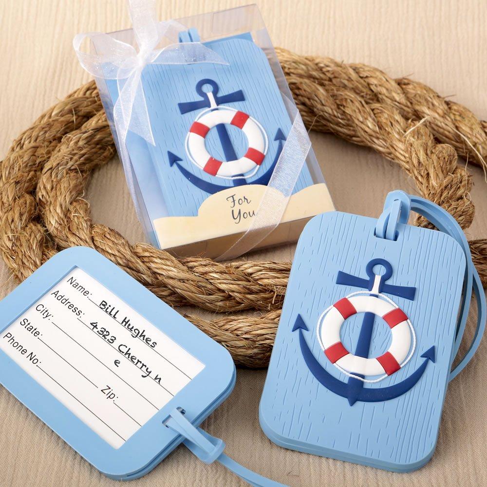 FASHIONCRAFT Nautical Themed Luggage tag by FASHIONCRAFT
