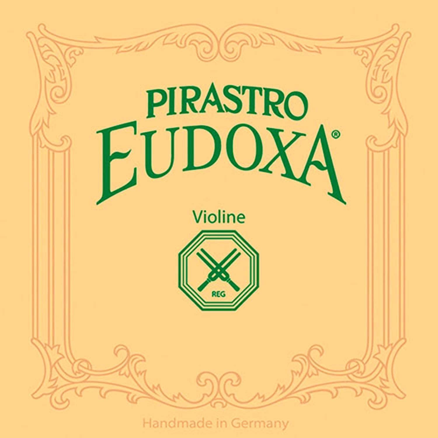 Traditional Replacement Accessory Premium Strings for Professional and Advanced Student Violin Players Pirastro Violin String Eudoxa Set Medium Handmade Wound Covered Gut Strings