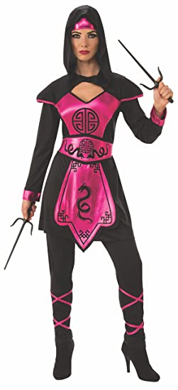 Amazon.com: Pink Ninja Warrior Costume for Women: Toys & Games