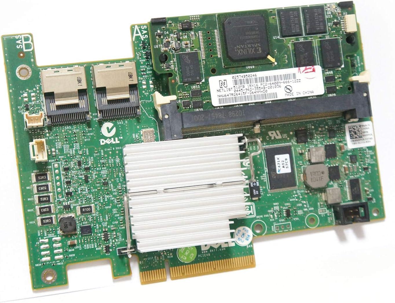 POINWER H700 KK67X R374M CNXVV H700i 0KK67X CN-0KK67X Replacement for Dell PERC 2 Internal Mini SAS Connectors PCI Express Raid Controller Card