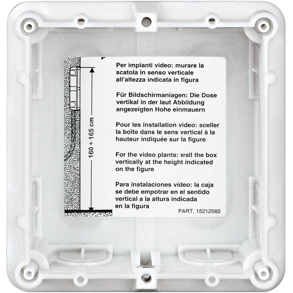Bticino placas robur - Caja empotrar 1 módulo robur: Amazon.es: Industria, empresas y ciencia