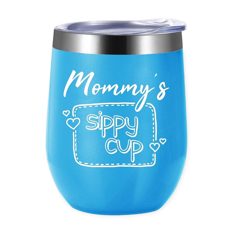 ★お求めやすく価格改定★ Mommy's Sippy Cup - - 断熱ワインタンブラー バレンタイン - 12オンスステンレススチール シッピーカップ 蓋とストロー付き - 面白い ノベルティ バレンタイン おばあちゃん シッピーカップ B07MLKGZH4, 遊恵盆栽:bcdd9580 --- yelica.com