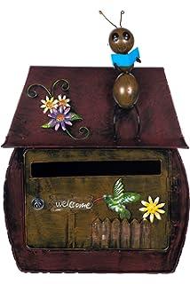 Motivbriefbox Zeitungsrolle Motiv-Postkasten Postbox Motivbriefkasten Frosch NEU