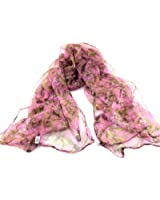 New BlingUstyle VINTAGE/FASHION FLORAL/ SPOTS Ladies 100% Silk Scarf for Wedding Evening Party