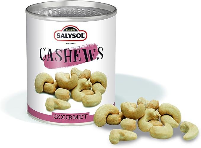 Frutos secos en lata Salysol Gourmet - Anacardos 50 g (PACK 10 UNIDADES): Amazon.es: Alimentación y bebidas
