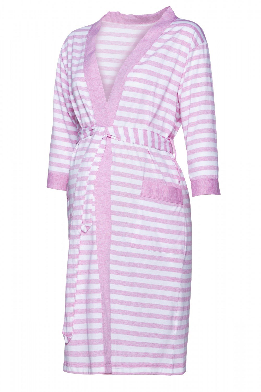 Happy Mama Women's Maternity Top Nursing Pyjamas and Robe Sold Separately. 394p pregnight_394