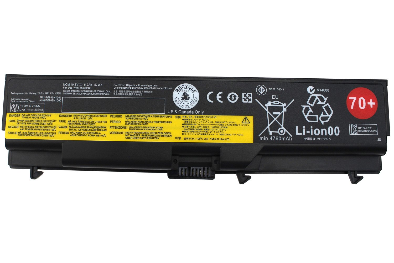 Bateria Lenovo ThinkPad 70+ T410 T410i T420 T420i T430 T430i
