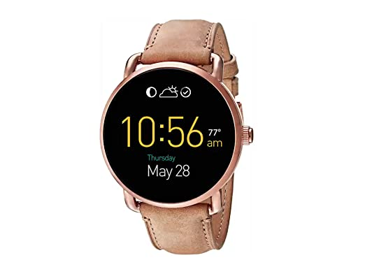 Amazon.com: Fossil Gen 2 - Reloj inteligente (piel), color ...