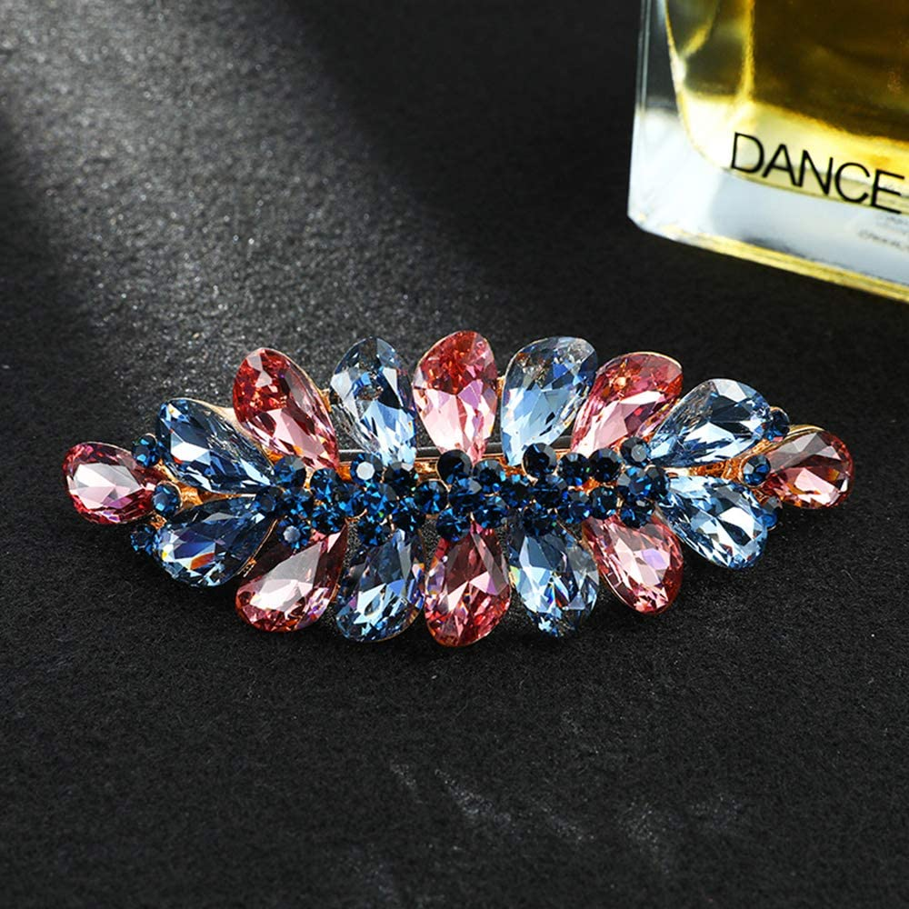 Beautiful High Quality Rhinestone Butterfly Large Hair accessory Clamp 10cm