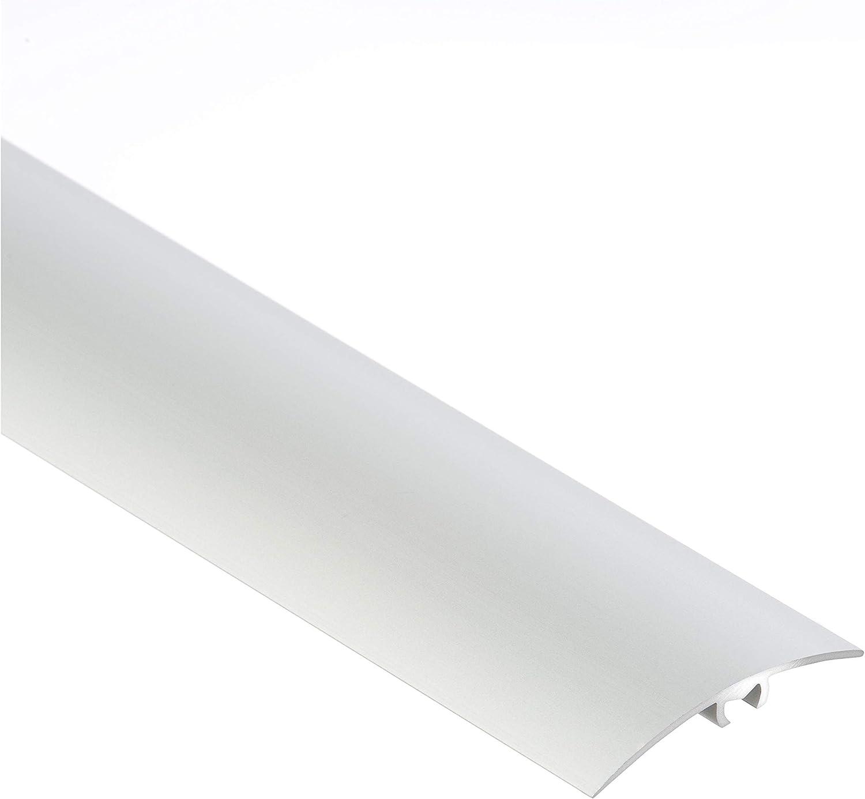 /090/ CEZAR W de al de LW40/de C0/ /Regleta///übergangsschiene con tacos de ancho 40/mm Plata