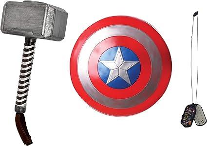 Thor Hammer Mjolnir Avengers Ragnarok Superhero Toy Halloween Costume Accessory