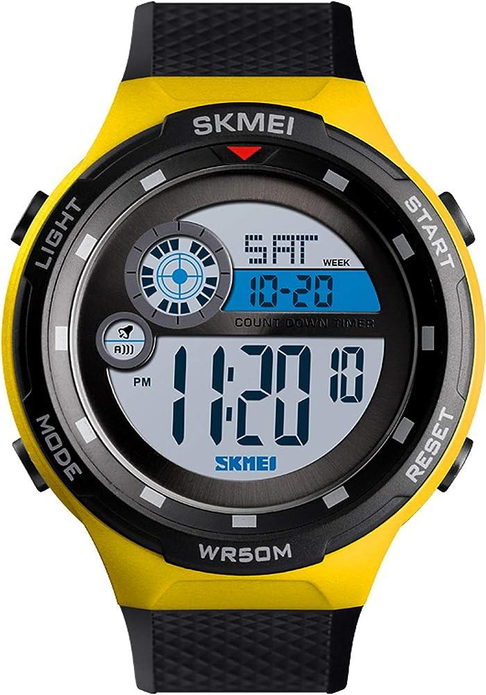 Reloj - findtime - para - MYXL-SKMEI1465YELLOW: Amazon.es: Relojes
