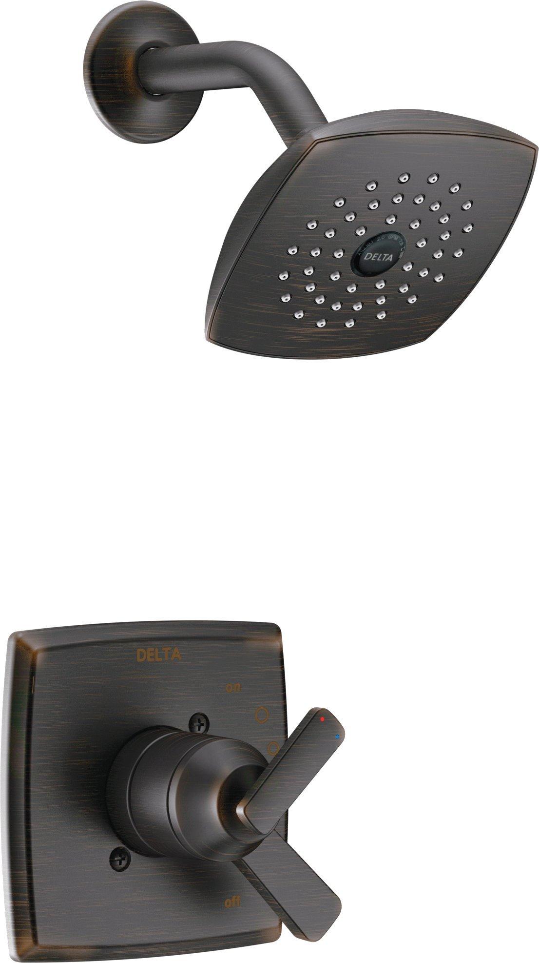 Delta T17264-RB Ashlyn Monitor 17 Series Shower Trim, Venetian Bronze by DELTA FAUCET