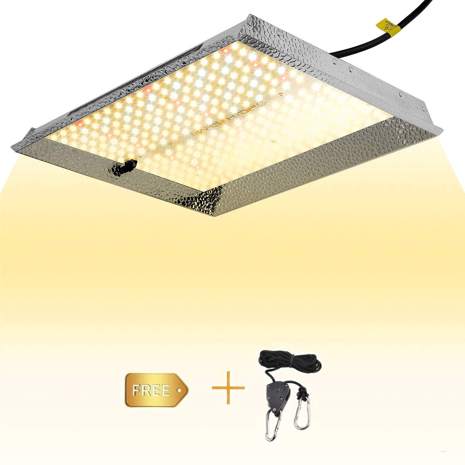 MARS HYDRO TS 1000W Led Grow Light Sunlike Full Spectrum LED Growing Lights for Indoor Plants Greenhouse Veg Bloom with Updated 342 LEDs Hydroponic Led Growing Lamps with Hanger Actual Power 150Watt by MARS HYDRO