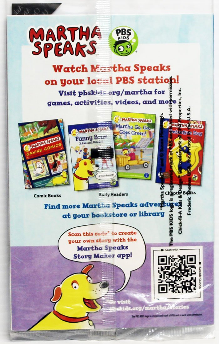 Amazon.com: Chick-Fil-A Kids Meal Martha Speaks Sticker Book Camp ...