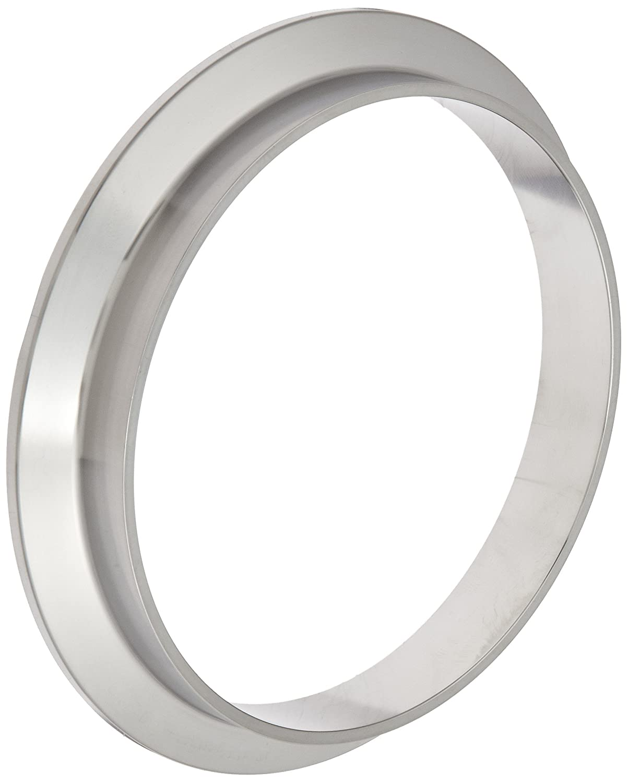 Dixon 14WMP-R100 Stainless Steel 316L Sanitary Fitting, Short Weld Clamp Ferrule, 1