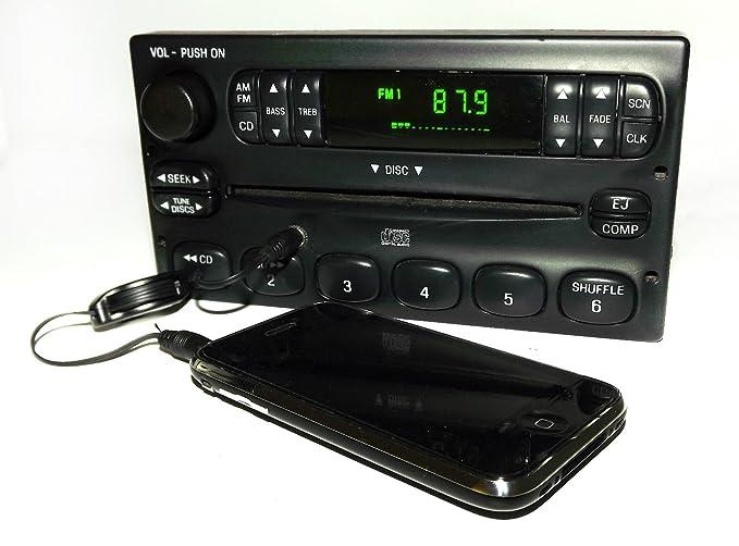 Amazon Ford Ranger 20002003 Am Fm Cd Radio W Aux Mp3 35mm Rhamazon: 2004 Ford Ranger Radio With Aux At Gmaili.net