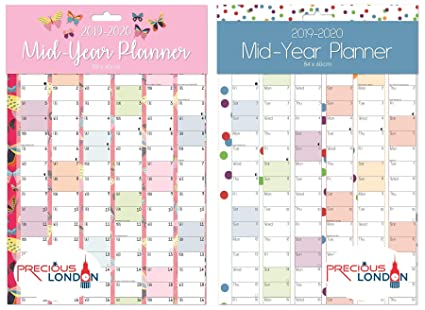 Precious 2019-2020 - Calendario de pared (tamaño A1, tamaño ...