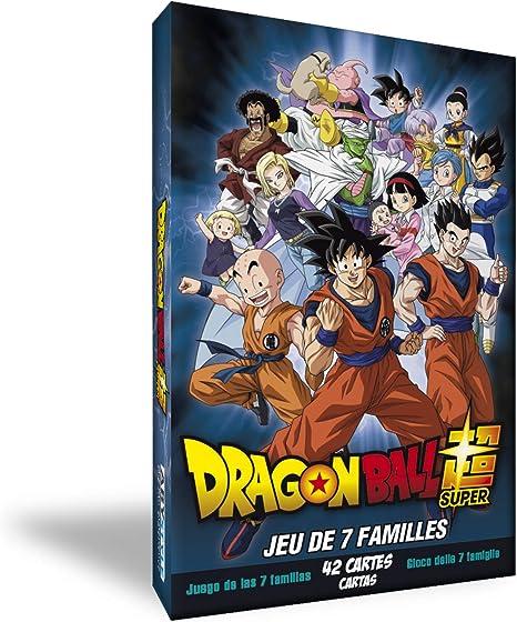 607923b - DRAGON BALL SUPER - Jeu 7 familles (PlayStation 4): Amazon.es: Videojuegos