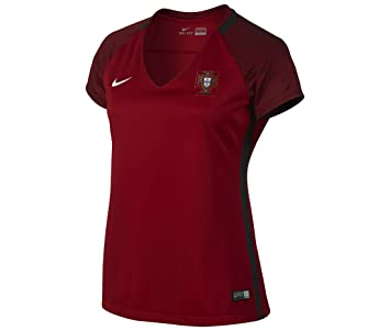 Nike womens FPF W SS HM STADIUM JERSEY 724676-687_L - GYM RED/DEEP