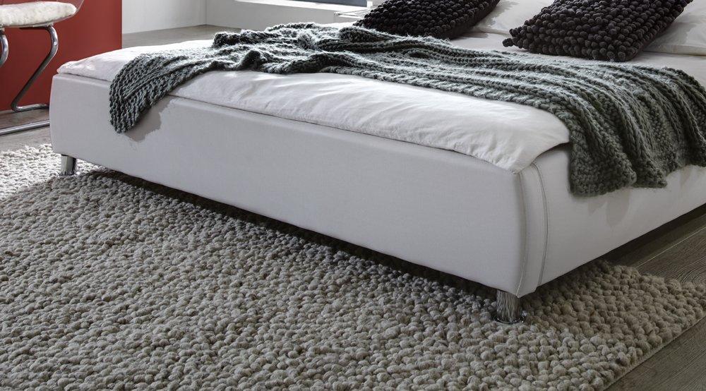 SAM® Polsterbett 160x200 cm Zarah, schwarz, Bett mit gepolstertem ...