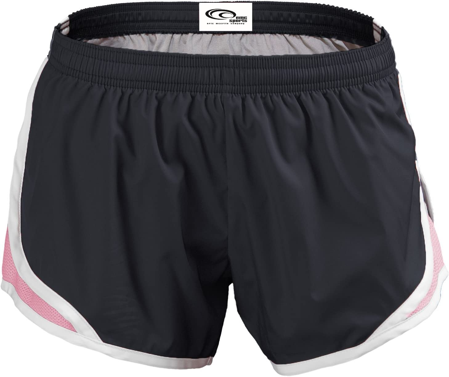 Momentum Junior Shorty Short Black//Silver-LARGE