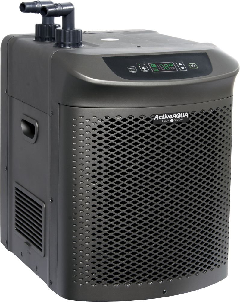 Active Aqua AACH50HP Water Chiller Cooling System, 1/2 HP, Rated per hour: 4,020BTU, User-Friendly