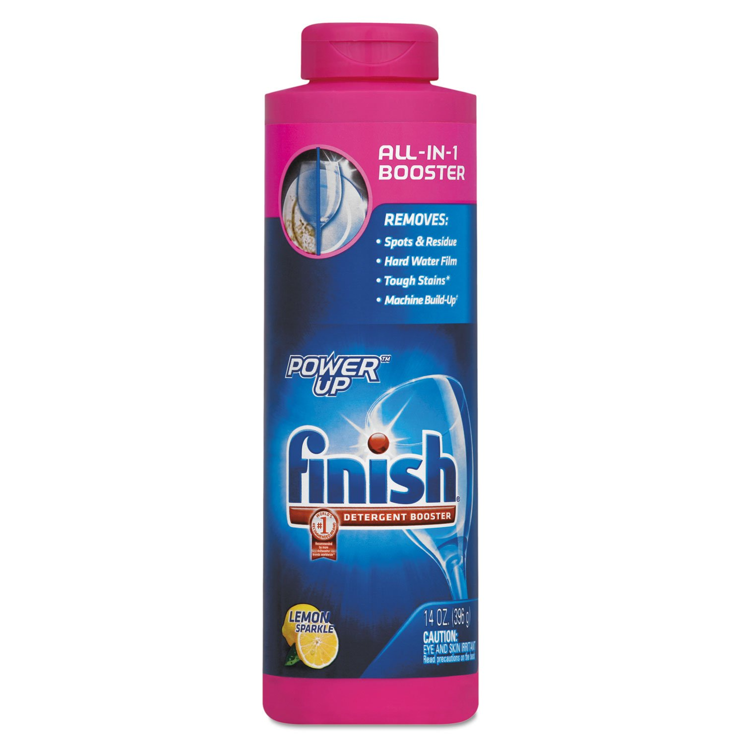 FINISH Power Up Booster Agent, 14Oz Bottle, 6/Carton