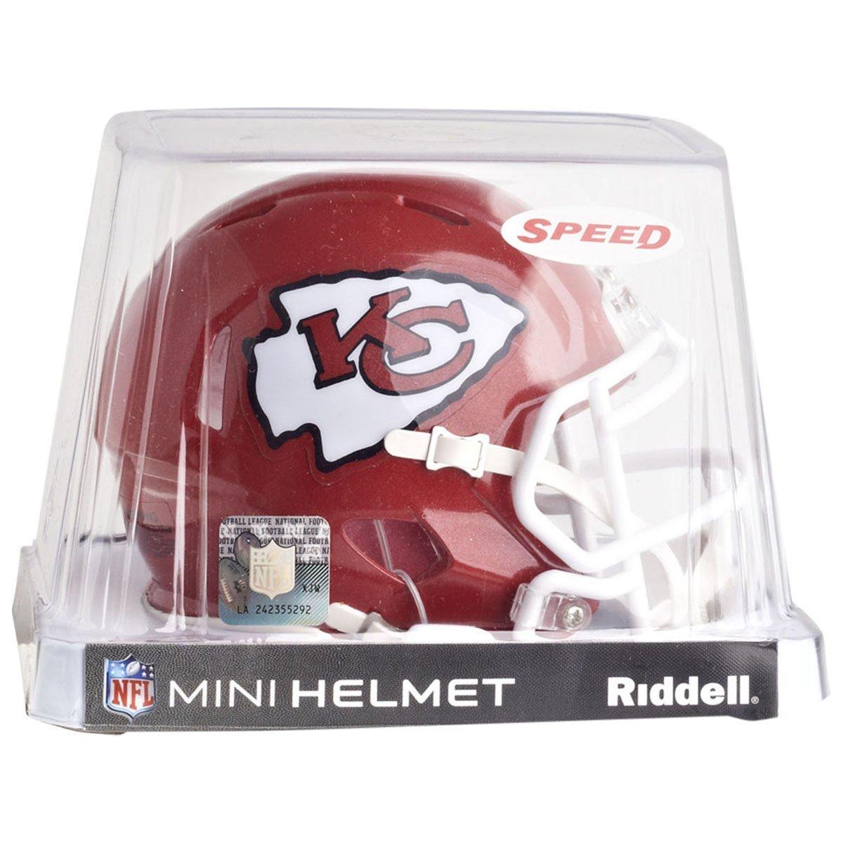 Riddell NFL Kansas City Chiefs Speed Mini Football Helmet