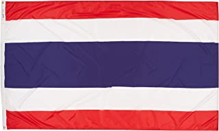 product image for Annin Flagmakers Model 198378 Thailand Flag Nylon SolarGuard NYL-Glo, 5x8 ft, 100% Made in USA to Official United Nations Design Specifications