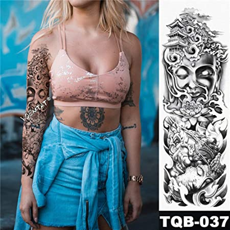 Handaxian 3pcsArm Tattoo Maori Power Totem Impermeable Tattoo ...