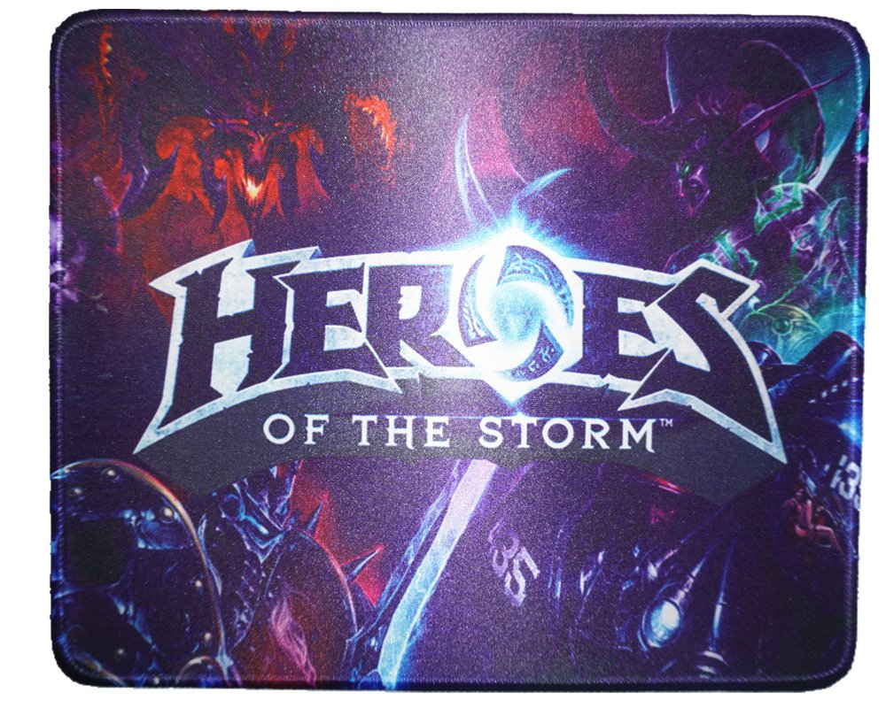 12x10 inch Heros of the Storm Collection Gaming Speeding Mouse Mat Mouse Pad