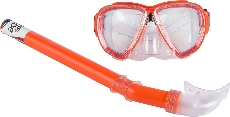 ColorBaby Aqua Sport Pack de Snorkel, Naranja, M: Amazon.es ...