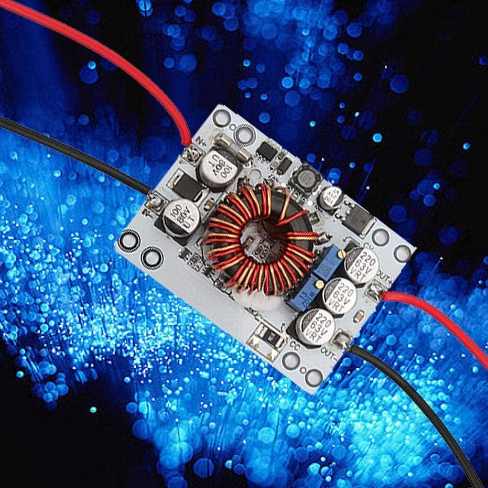Fahrzeugstromversorgung Batterieladung Geregelte Stromversorgung f/ür LED-Treiber Aufw/ärtswandler DC10.5-70V Eingang Step Up Down Netzteilmodul