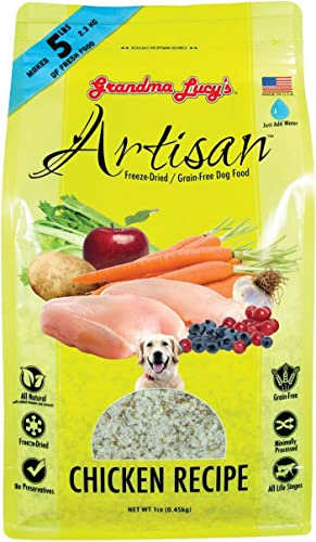Grandma Lucy s Artisan Dog Food, Grain Free and Freeze-Dried