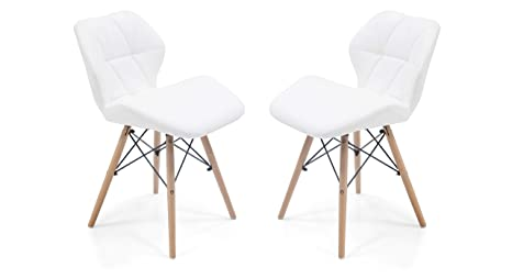 Groovy Urban Ladder Ormond Accent Chairs Set Of 2 Colour White Gmtry Best Dining Table And Chair Ideas Images Gmtryco
