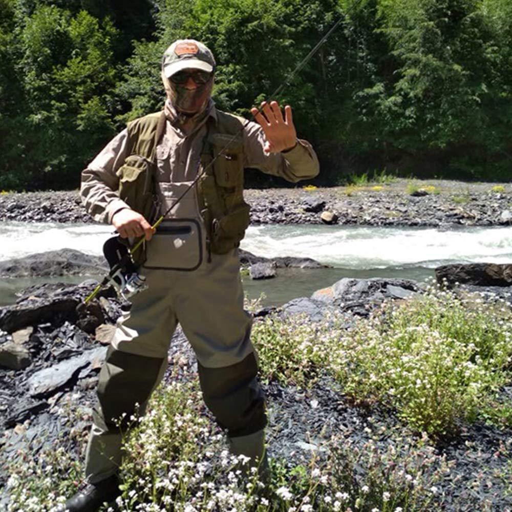 Kylebooker Fishing Breathable Stockingfoot Chest Wader