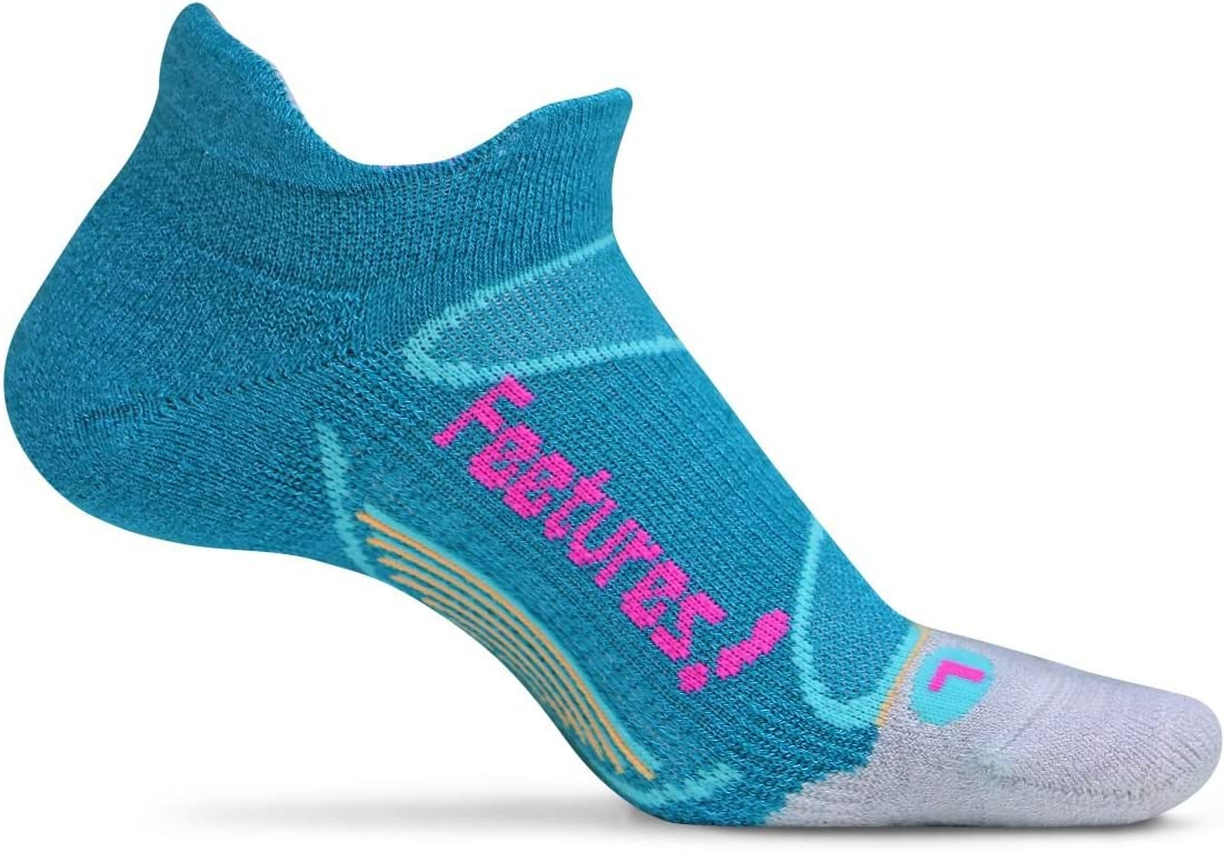 Protects High Impact Areas Light Cushion Targeted Compression Elite Ultra Light High Performance Running Sock Feetures No Blister