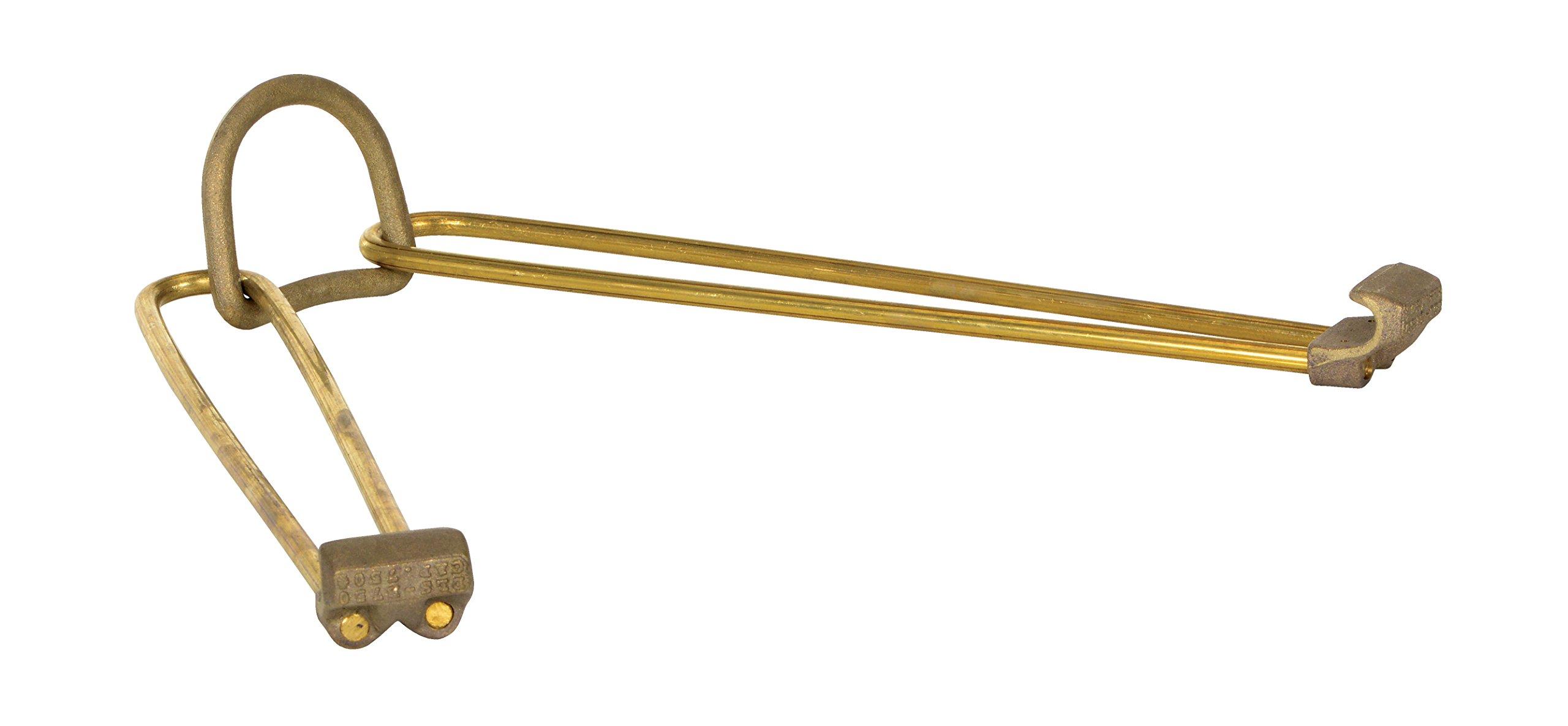Vestil DCS-750-B Brass Drum Sling, 750 lbs Capacity