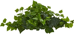 Nearly Natural 24in. London Ivy Artificial Ledge (Real Touch) Silk Plants, Green
