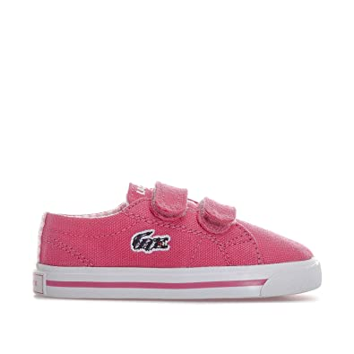b252c586fb8109 Lacoste Girls Infant Girls Marcel 117 Trainers in Pink - 7 Infant ...