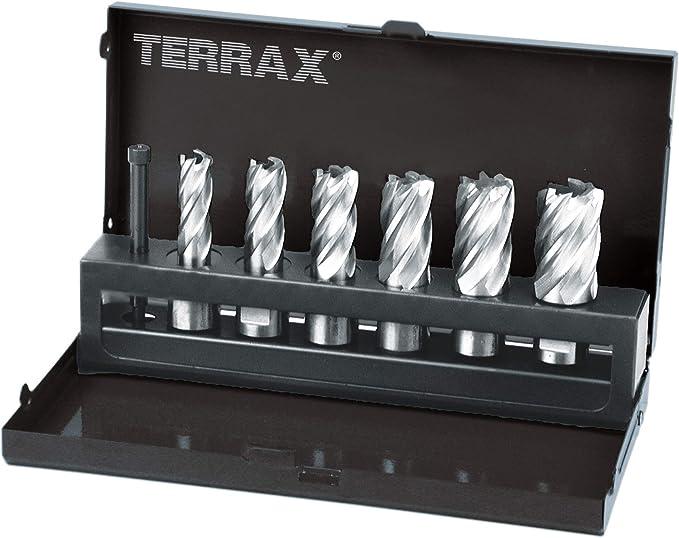 6,35 x 77 mm Ruko Terrax Gu/ía-expulsor para brocas huecas con v/ástago Weldon