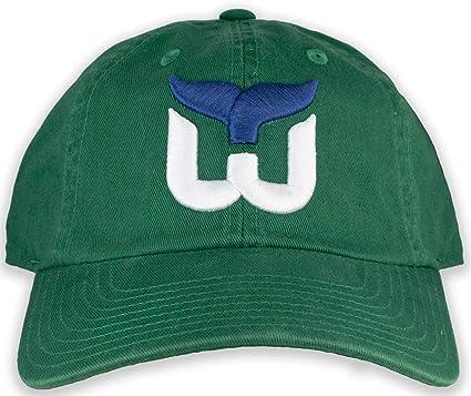 One Size NHL Mens Hartford Whalers OTS Challenger Adjustable Hat Vintage