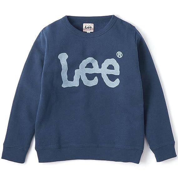 19c57c139fb98 リー LEE キッズ トレーナー 男の子 女の子 裏起毛 スウェット ロゴ KID S LOGO PRINT SWEAT LK0351-