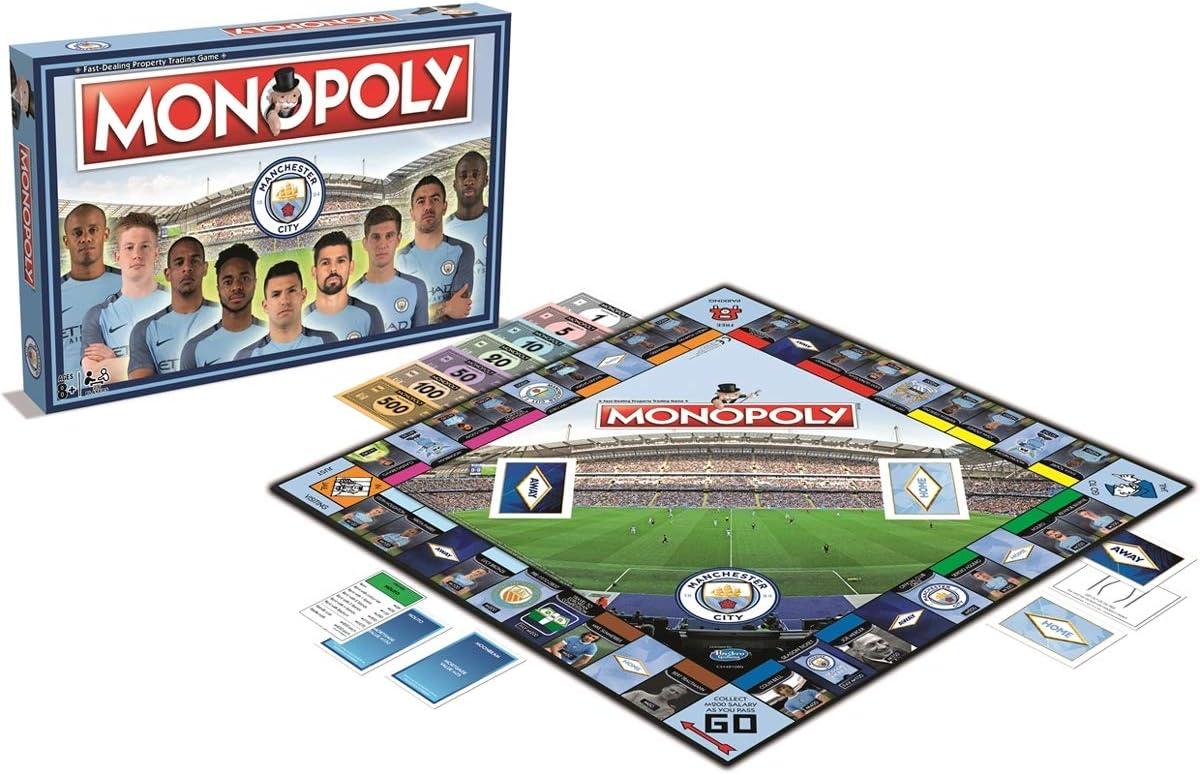 Monopoly Manchester City FC wersja angielska: Amazon.es: Juguetes y juegos
