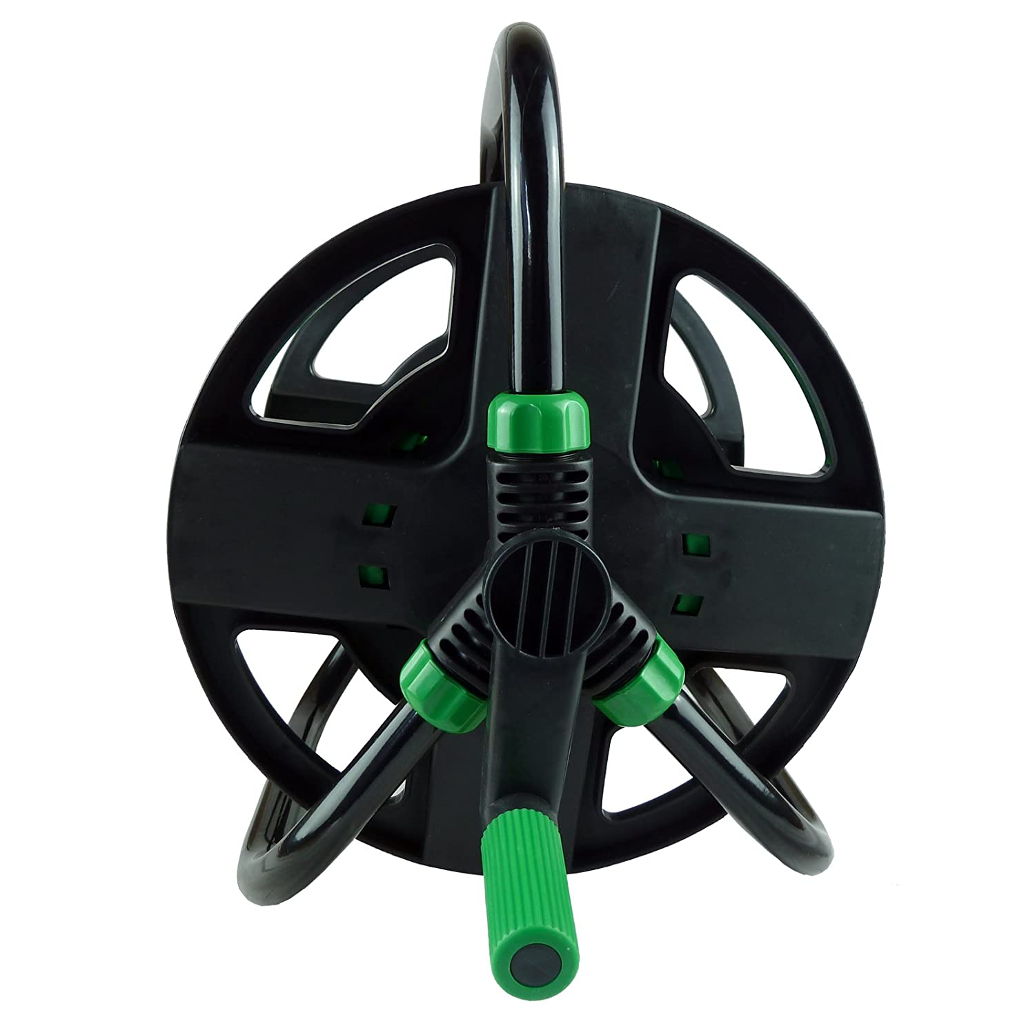 30m Portable Hose Reel - Free Standing Compact Reel We Search You Save